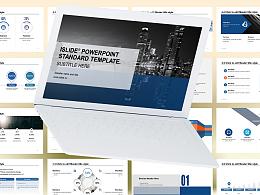 簡約商務風格項目匯報 PPT模板下載