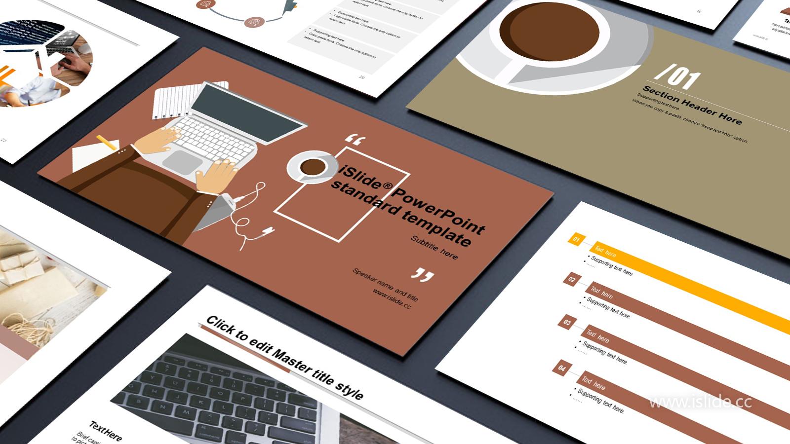 卡通風格個人職業規劃 PPT模板下載_預覽圖1