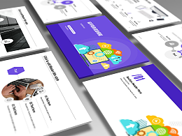 电子商务网络营销推广PPT模板下载